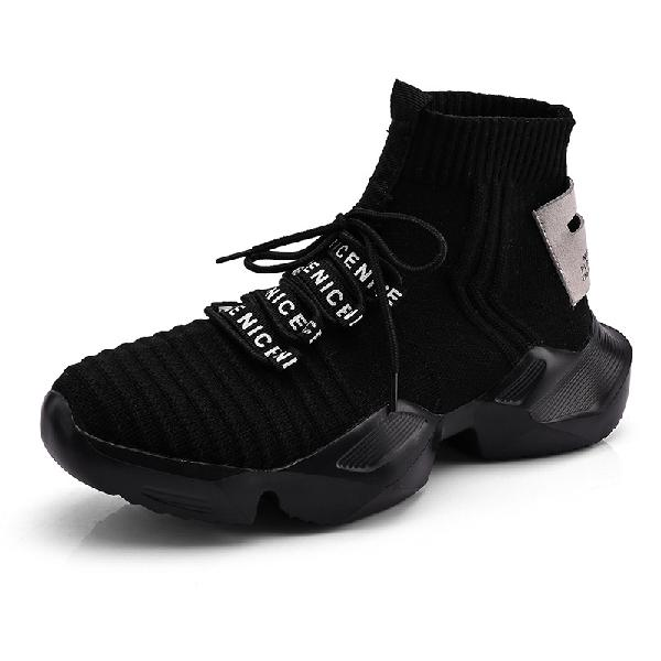 Men sneakers mens high tops sock shoes fashion leisure