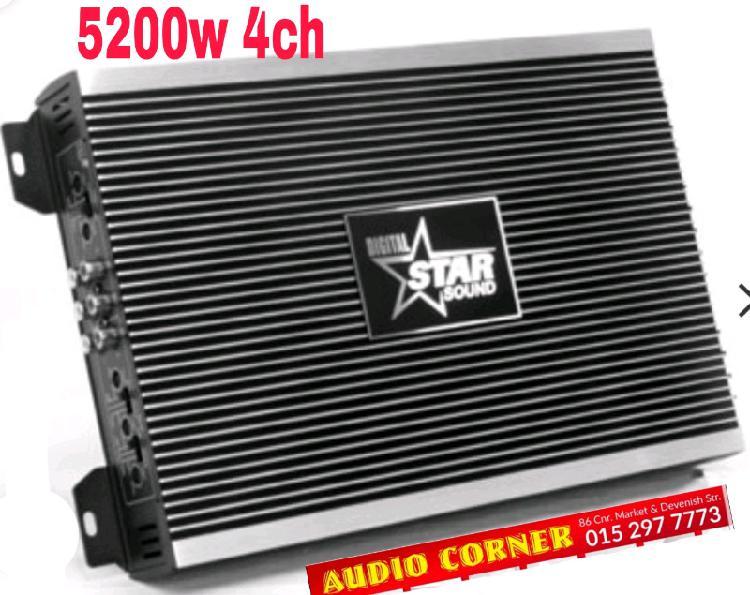 Star sound 4 channels amp
