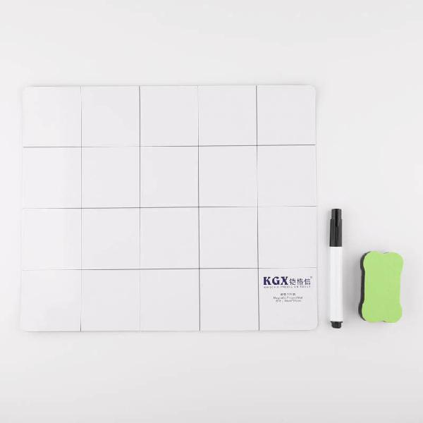 Kgx 30x25cm magnetic work pad for iphone samsung mobiile