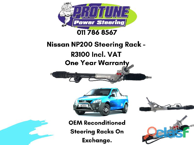 Nissan NP200   OEM Reconditioned Steering Racks