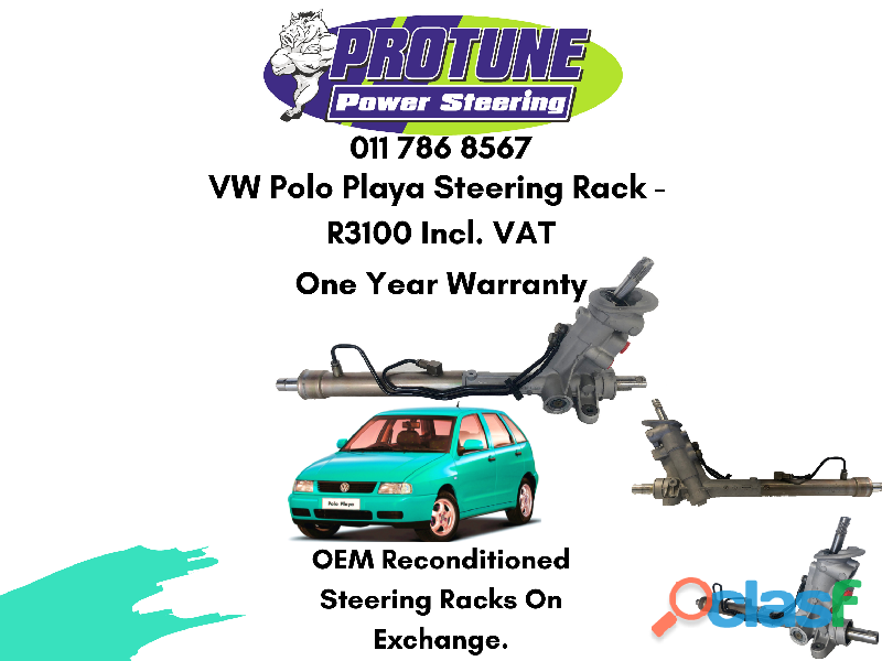 VW Polo Playa   OEM Reconditioned Steering Racks
