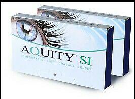 Contact lenses aquity -1.25
