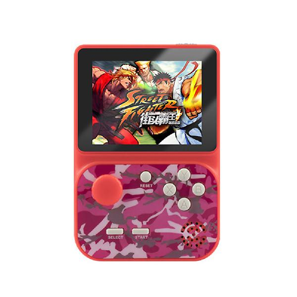 Color camouflage red)gba sfc m3 2000 games handheld game