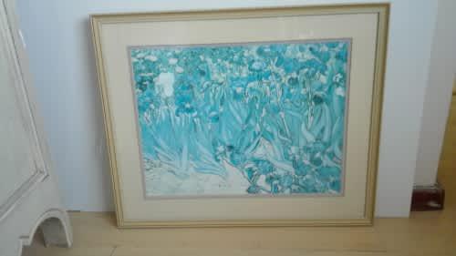 Framed print - vincent van gogh: irises 37cm x 49cm
