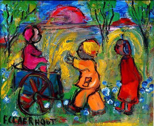 Frans claerhout (sa 1919-2006) pro-digital print cla-016 on