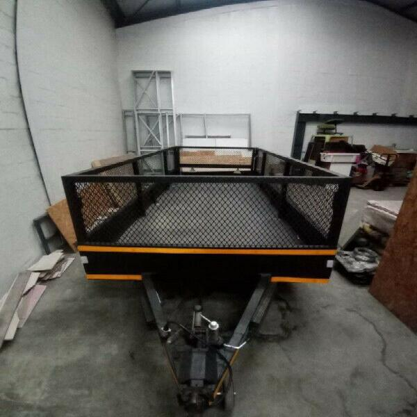 4 Meter double axle trailer for sale