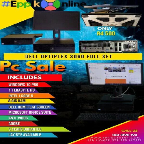 Dell Optiplex 3060 full computer set