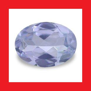 TANZANITE - ELECTRIC BLUE PURPLE OVAL FACET - 0.160cts