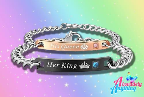 Wholesale - 4 sets of 2pc her king and his queen fashion