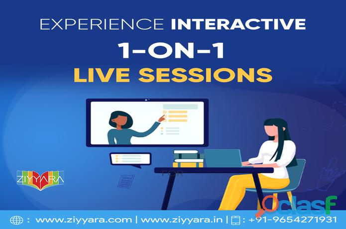 One To One Online Live Interactive Tuition 1