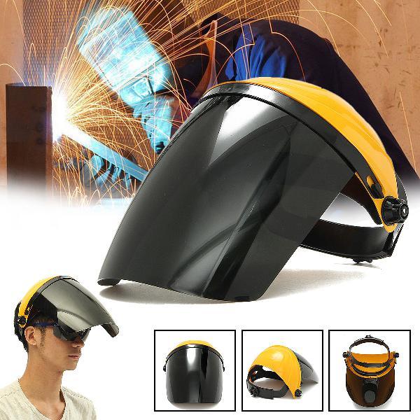 Adjustable welding helmet arc tig mig welding lens grinding