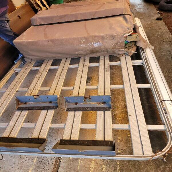 Defender aluminium roodrack