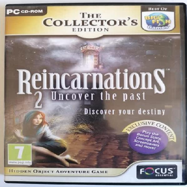 Pc cd game - reincarnations 2 - uncover the past -