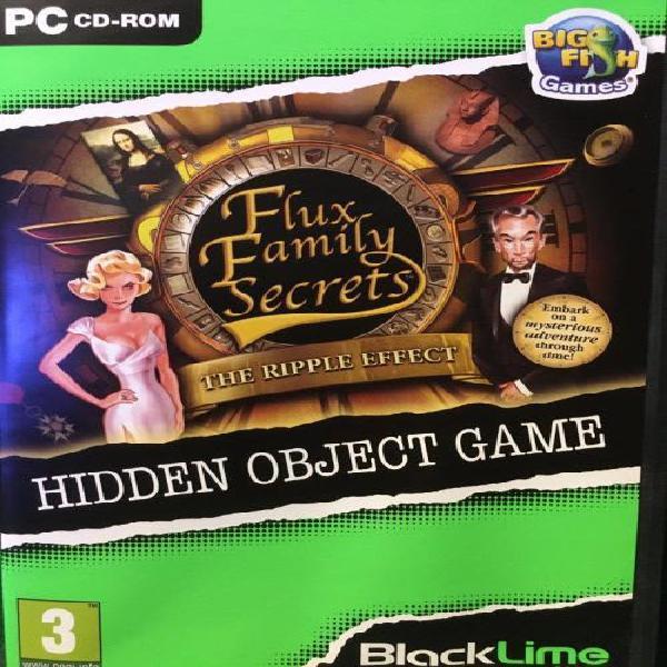 Pc - flux family secrets - the ripple effect - hidden object