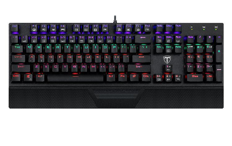T-dagger destroyer 104 key|wrist guard|rainbow backlit