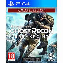 Tomclancys ghost recon breakpoint limited edition ps4 - mint