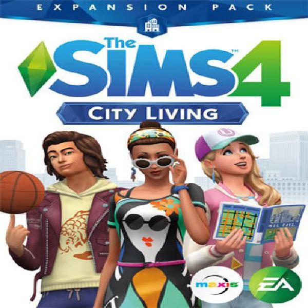 The sims 4: city living expansion pack - pc (origin download