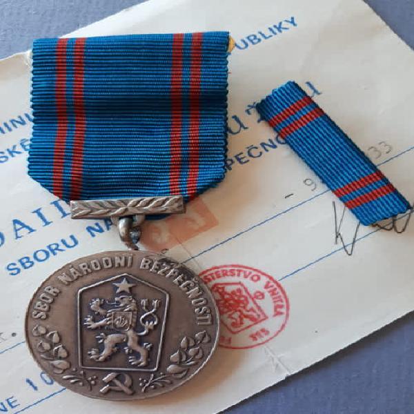Czechoslovakia (soviet era) - national security services