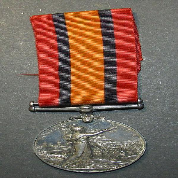 Full size qsa medal to: 28911 cpl t.m.chaloner rand rifles