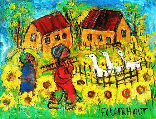 Frans claerhout (sa 1919-2006) pro-digital print cla-019 on