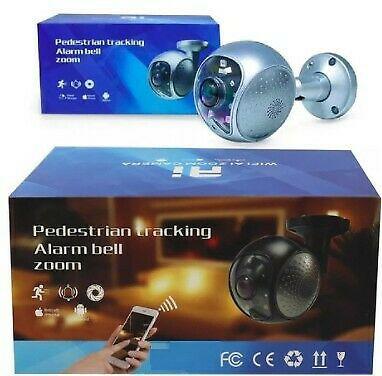 Pedestrian tracking alarm bell zoom cam