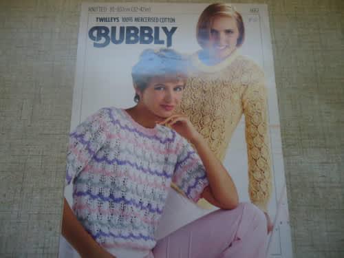 Twilleys bubbly # 6667 long & short sleeve sweaters sizes 32