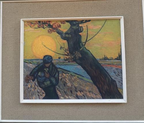 Vincent van gogh - collectible vintage print `sower at