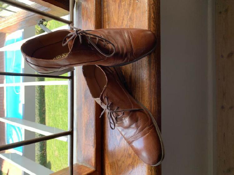 David jones leather shoes size 8