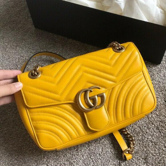 My barely used original gg crossbody bag in yellow