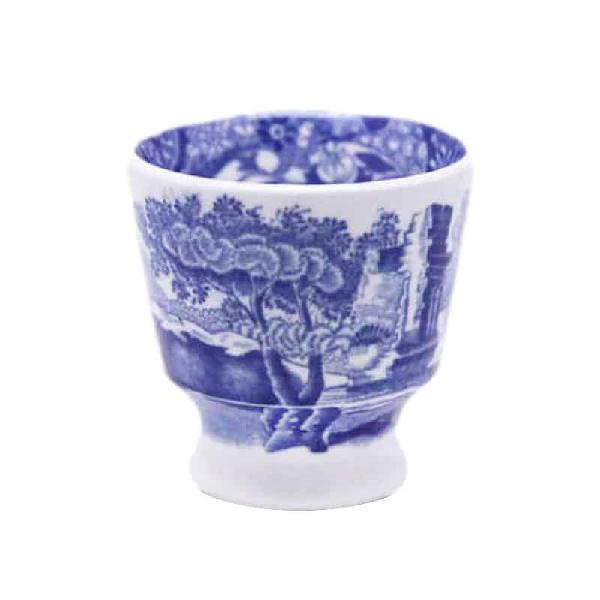 Copeland spode blue italian pattern egg cup - blue mark