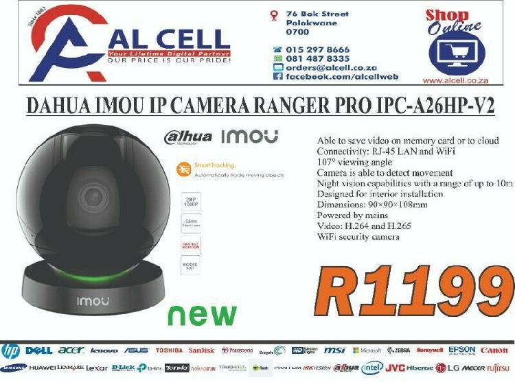 Dahua imou ip camera ranger pro ipc-a26hp-v2