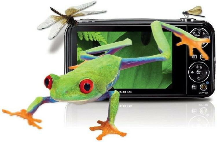 Fujifilm finepix real 3d w3 digital camera with 3.5-inch lcd