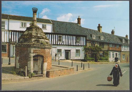 Walsingham the common place - unused postcard