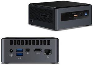 Intel nuc8-v7pnh nuc (next unit of computing) - 117x112x53mm