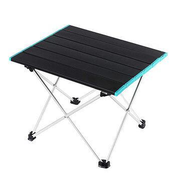 Portable folding table camping picnic beach desk aluminium