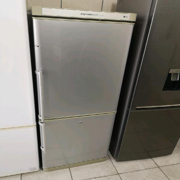 Lg silver fridge freezer