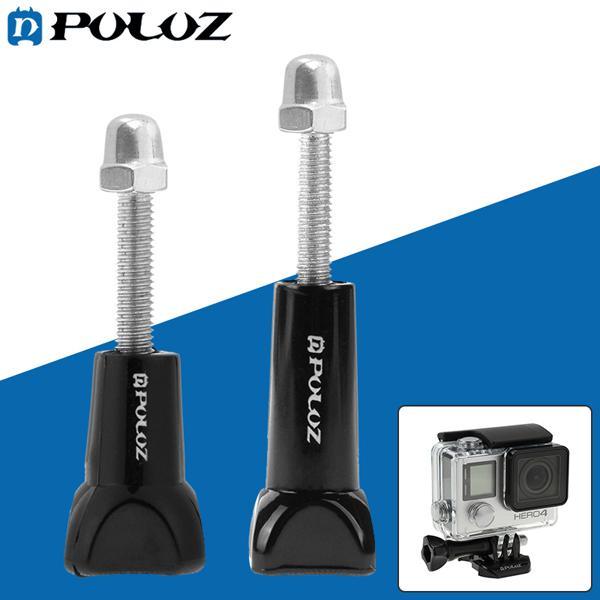 Puluz plastic thumb knob long short screws for gopro sjcam