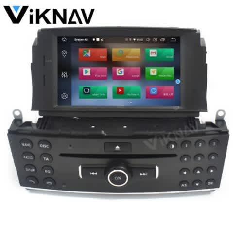 Android 10.0 car radio multimedia player for mercedes benz