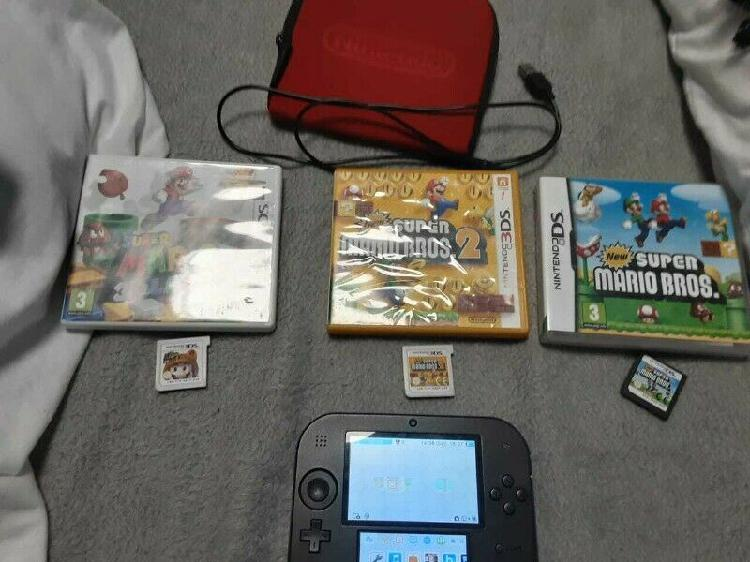 Nintendo 2ds with 21 games(swap for new nintendo 3ds or 2ds