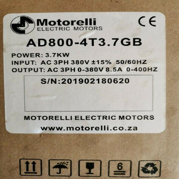 Variable speed drive ac drive