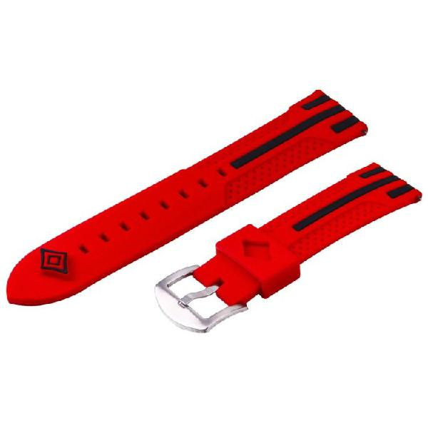Fashion stripes pattern watches band for samsung s3(red)