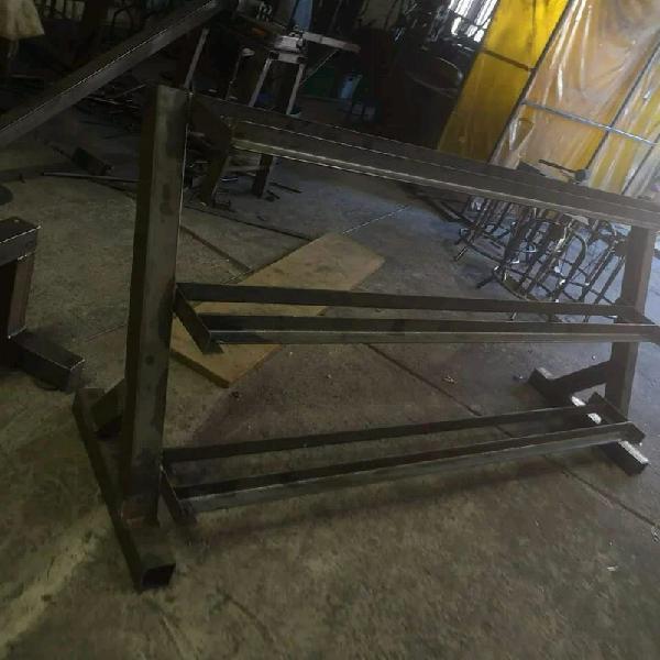 3 tier extra heavy duty width adjustable dumbbell racks