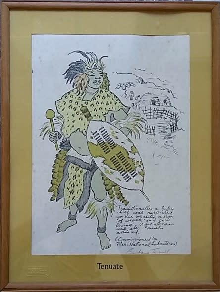 Barbara tyrrell (1912-2015), signed numbered lithograph,