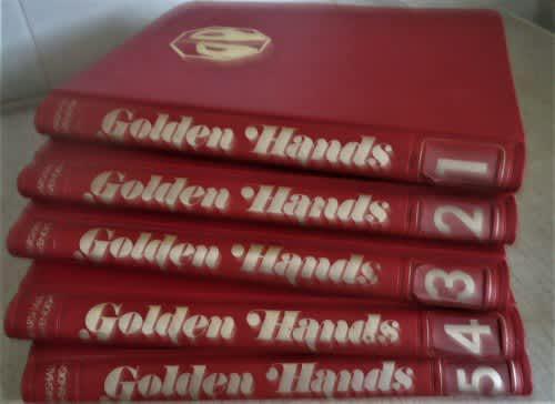 Golden hands - complete 5 file set -1972 plus 66 separate