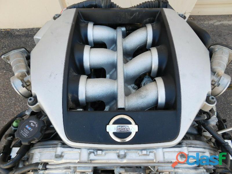 JDM NISSAN GT R R35 PREMIUM VR38 OEM COMPLETE ENGINE LONGBLOCK 20,045 MILES