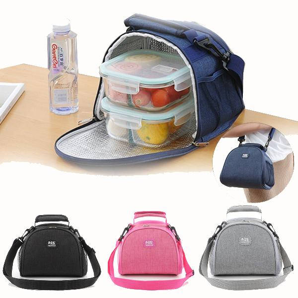 Large capacity lunch insulated bag waterproof portable