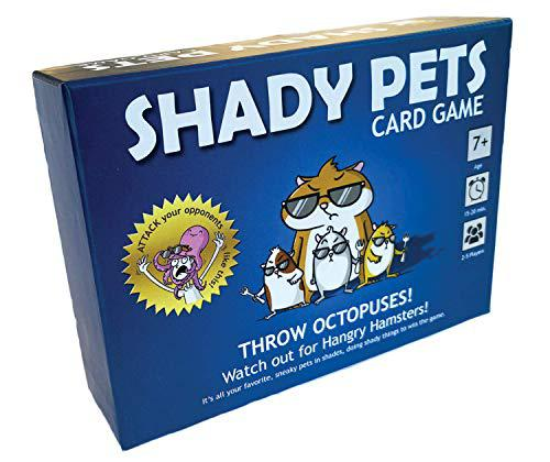 Shady pets card game - family-friendly party games - card