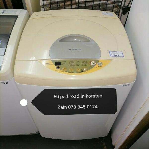 Samsung top loader washing machine