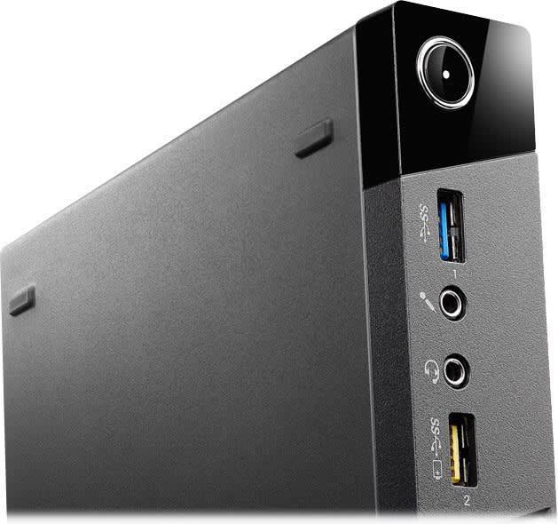 Lenovo ThinkCentre M73 Tiny Desktop   Core i3-4130T CPU @