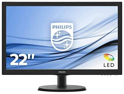 Philips 223v led 22 inch fhd 1080p monitor with hdmi